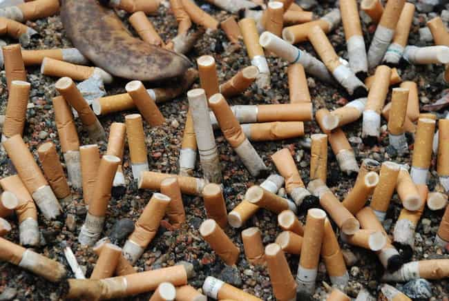 Cigarettes Cause Cancer is listed (or ranked) 8 on the list Conspiracy Theories That Turned Out To Be True