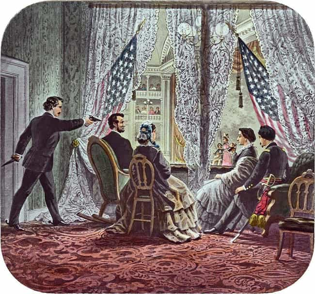 Lincoln's Assassination ... is listed (or ranked) 1 on the list Conspiracy Theories That Turned Out To Be True