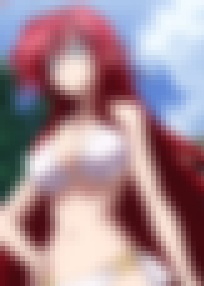 Rias Gremory is listed (or ranked) 1 on the list The Top Hot Anime Girls