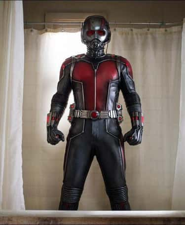 Ant-Man — Ant-Man is listed (or ranked) 6 on the list The Best Marvel Costume Adaptations Ever