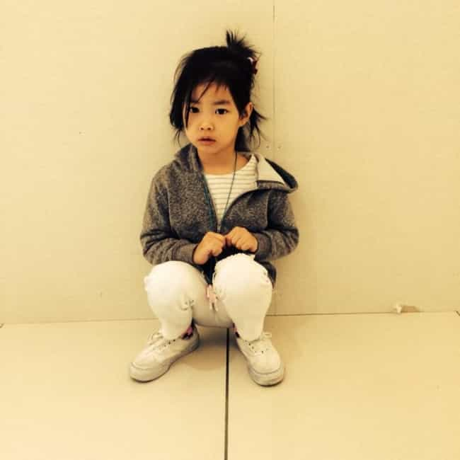 Lee Haru is listed (or ranked) 4 on the list The Cutest Children of Korean Celebrities