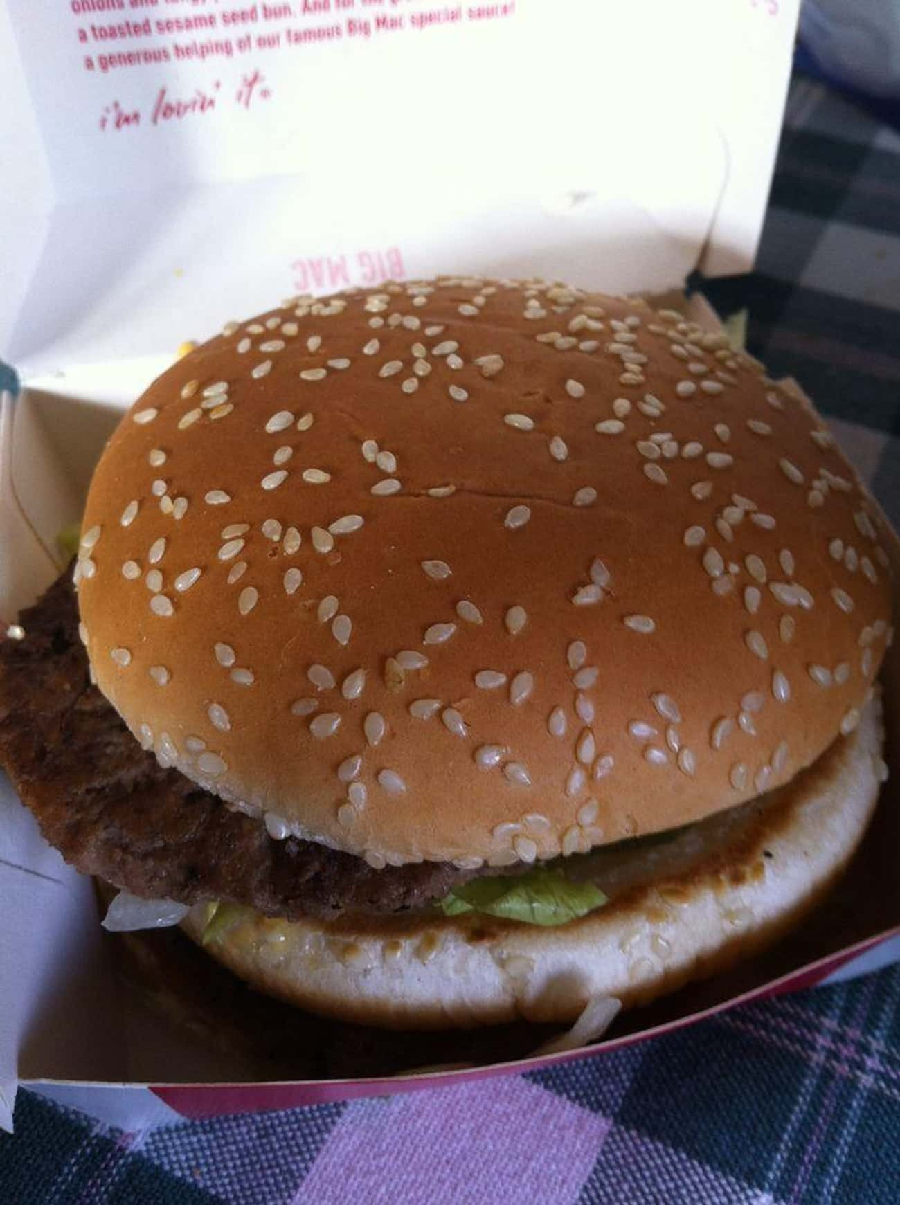Poor Man's Big Mac is listed (or ranked) 2 on the list McDonald's Secret Menu Items