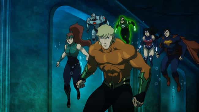 This Is an Aquaman Film is listed (or ranked) 2 on the list 12 Reasons to Watch Justice League: Throne of Atlantis