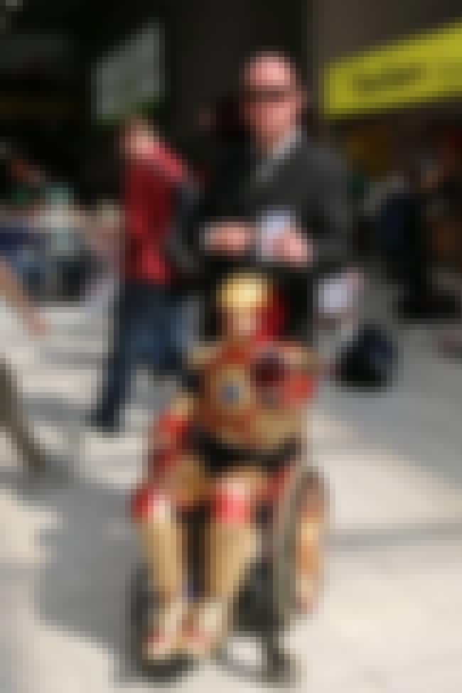 Dad Joins In On Iron Man Cospl... is listed (or ranked) 2 on the list The 35 Best Nerd Fathers on the Internet