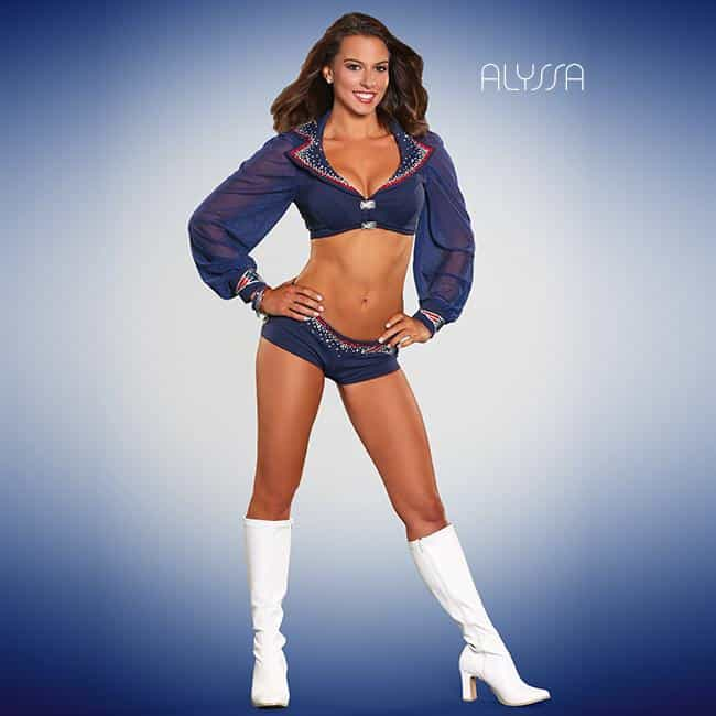 Alyssa is listed (or ranked) 2 on the list The 60 Hottest Cheerleaders of Super Bowl XLIX