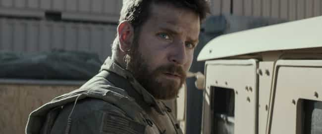 Bradley Cooper ate aroun... is listed (or ranked) 2 on the list 30 Things You Didn't Know About American Sniper