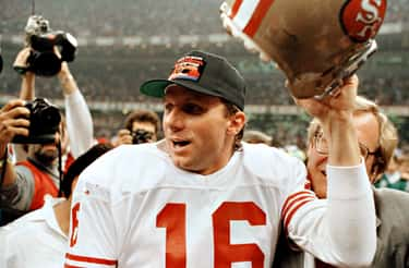 """Joe Montana (Super Bowl XXIII) is listed (or ranked) 1 on the list The Best """"Big Game"""" Performances by a Quarterback"""