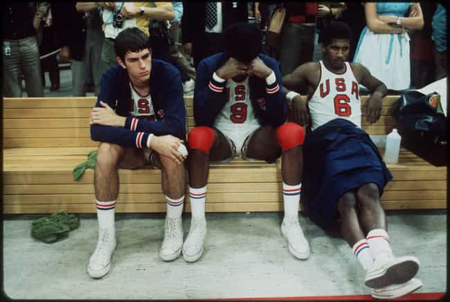 The 1972 US Basketball Team Ge... is listed (or ranked) 1 on the list The Biggest Sports-Related Conspiracy Theories