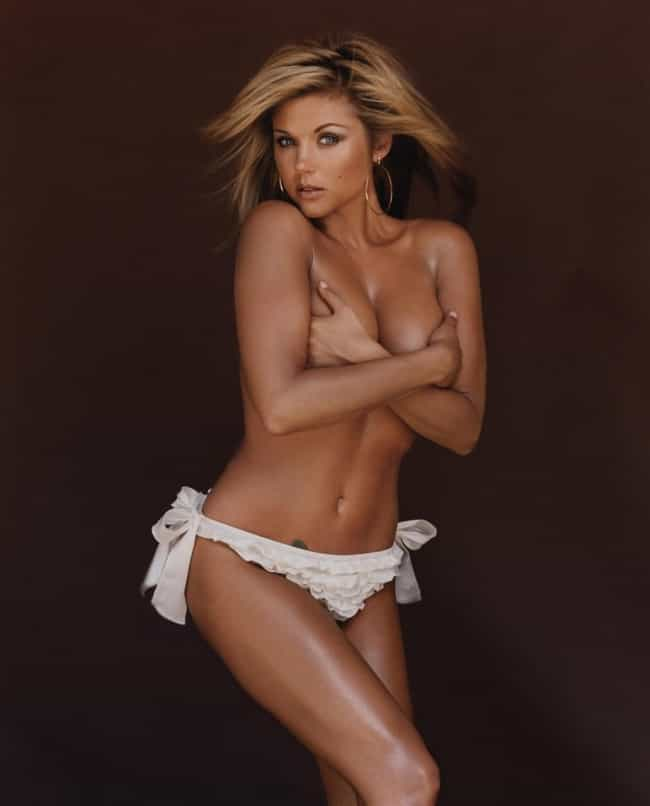 Tiffani amber thiessen hot nude, sexy and hot sweet krissy naked