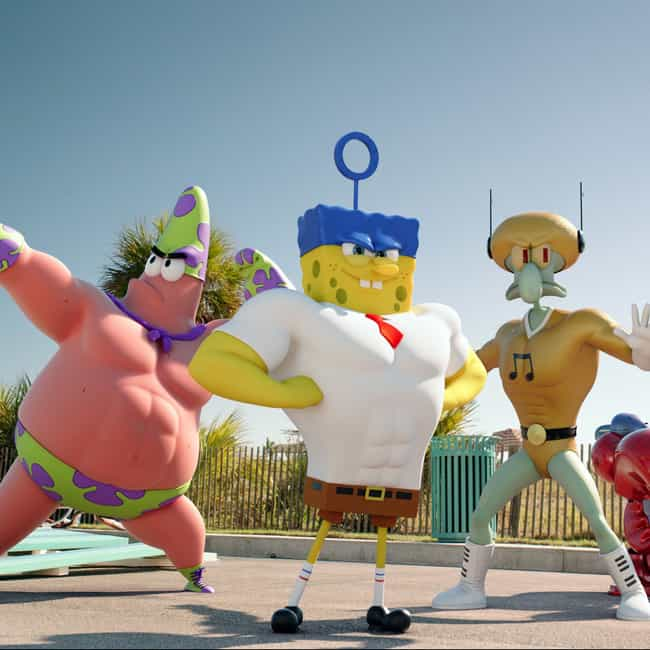 Those Guys Must Work Out is listed (or ranked) 4 on the list The SpongeBob Movie: Sponge Out of Water Movie Quotes
