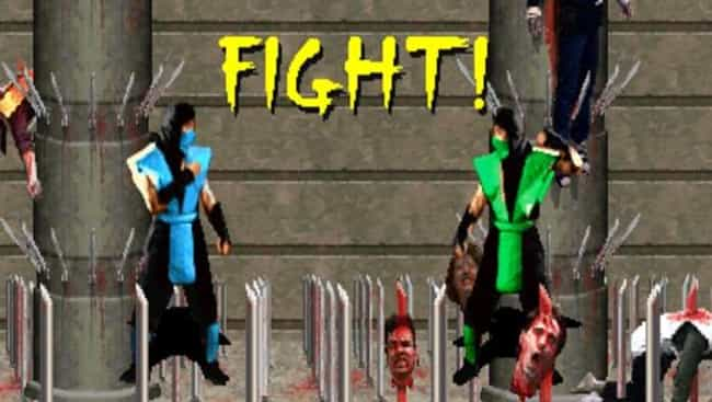 How to Fight in Reptile in Mor... is listed (or ranked) 3 on the list The Greatest Video Game Easter Eggs of All Time