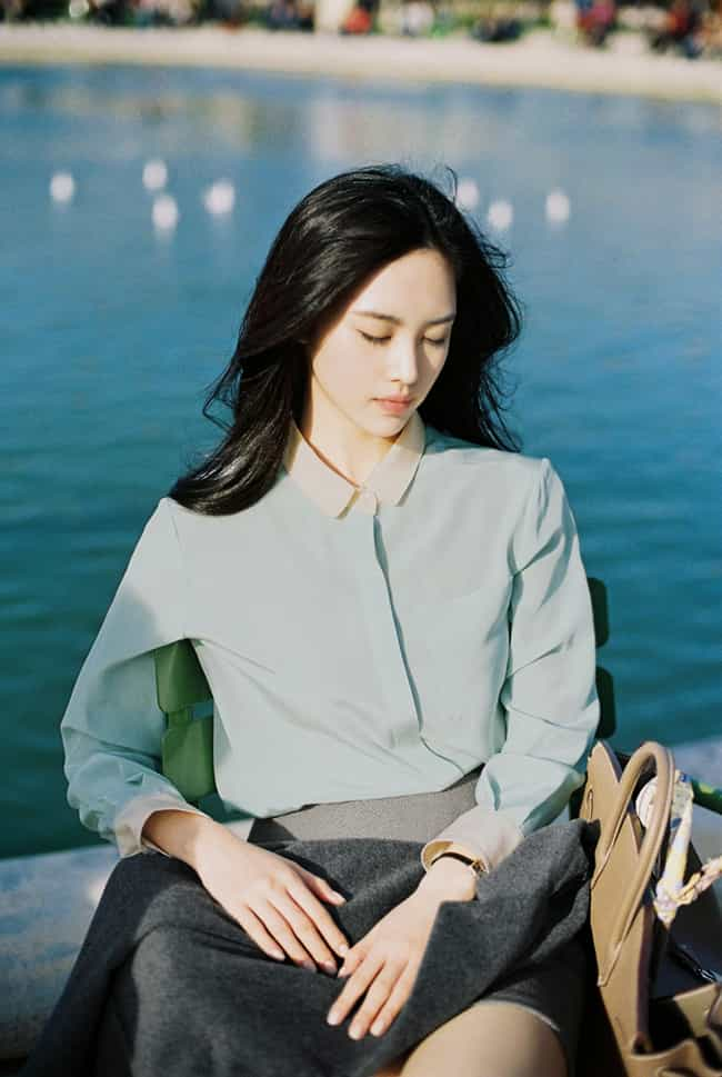 Silk Blouse is listed (or ranked) 1 on the list The Top South Korea Women's Fashions for Spring 2015