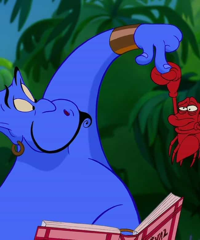 Sebastian from The Little Merm... is listed (or ranked) 1 on the list 47 Easter Eggs from Every Classic Disney Movie