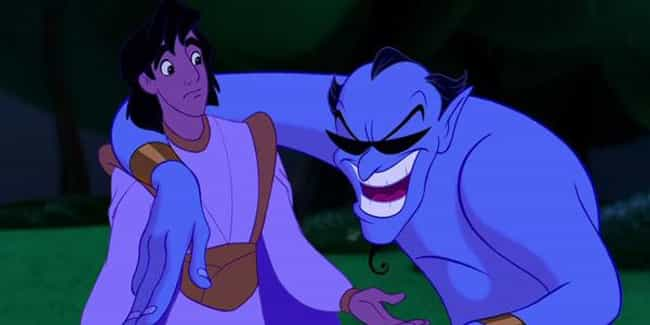 The Genie Impersonates Jack Ni... is listed (or ranked) 8 on the list 47 Easter Eggs from Every Classic Disney Movie