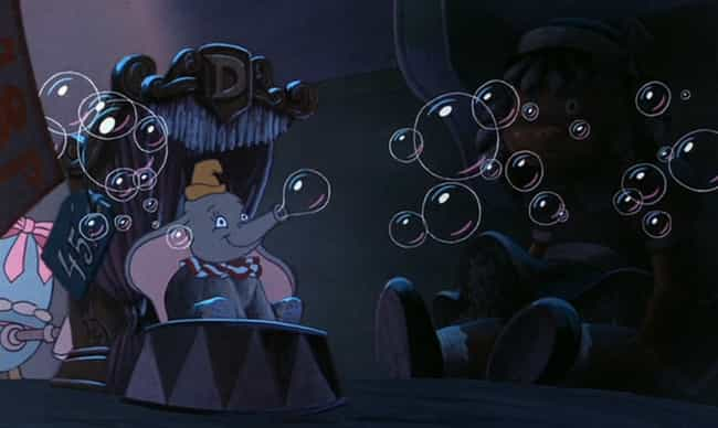 Dumbo Blows Bubbles in T... is listed (or ranked) 4 on the list 47 Easter Eggs from Every Classic Disney Movie