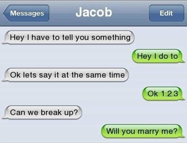 28 Breakup Texts That Are So Awful They're Amazing