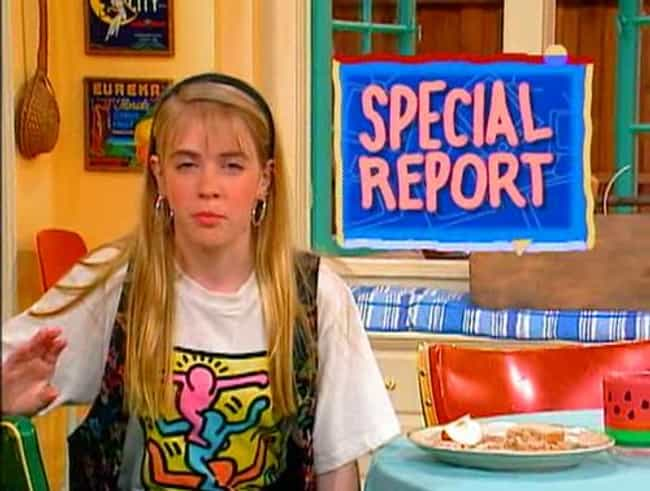 Those Computer Graphics Were V... is listed (or ranked) 4 on the list 30 Things You Didn't Know About Clarissa Explains it All