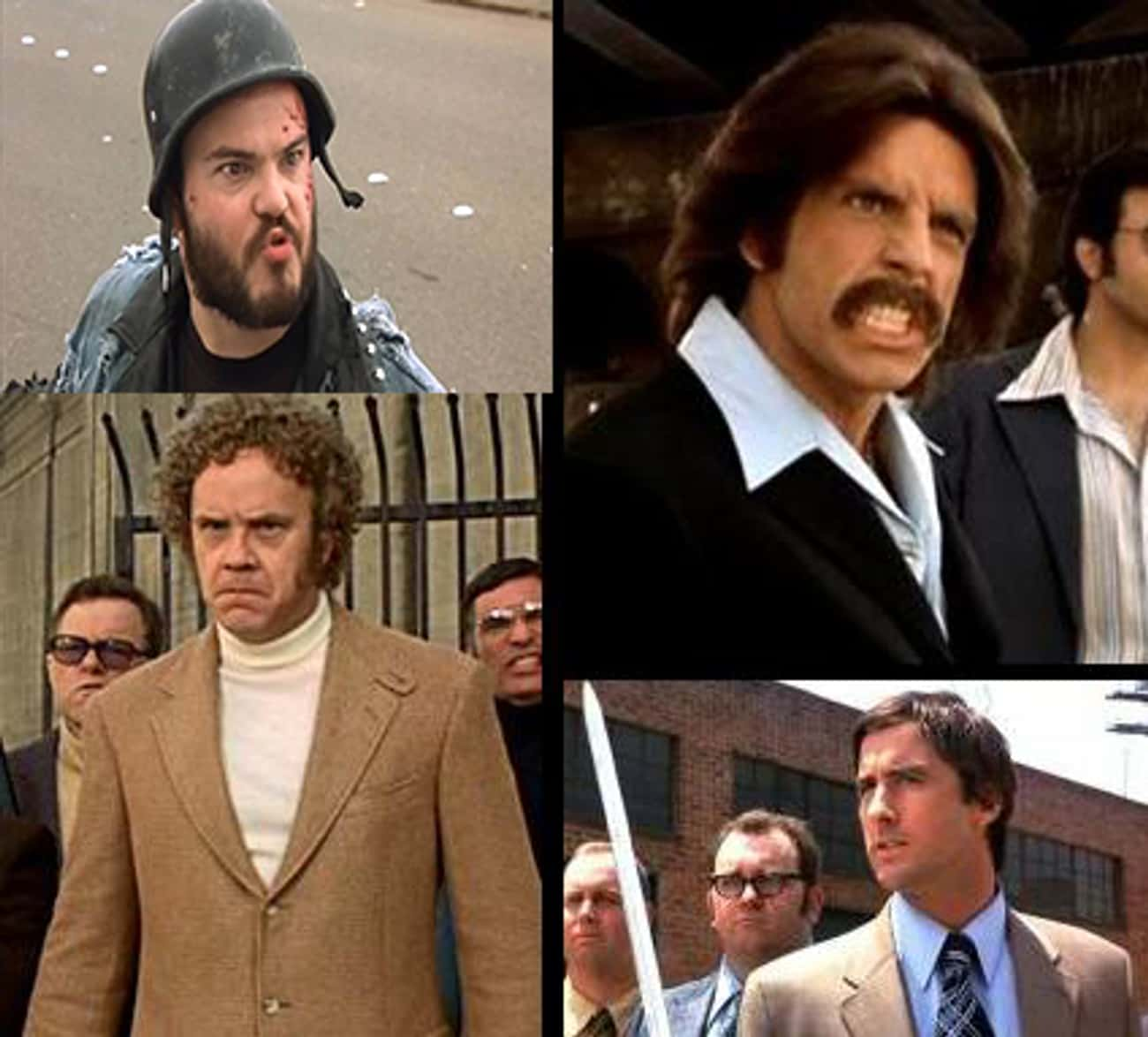 Tim Robbins, Ben Stiller, Luke is listed (or ranked) 4 on the list Tiny Movie Cameos By Super Famous People