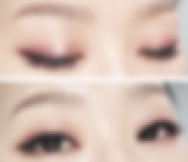 Thick Eyeliner is listed (or ranked) 3 on the list The Best Eye Makeup Techniques for Monolids