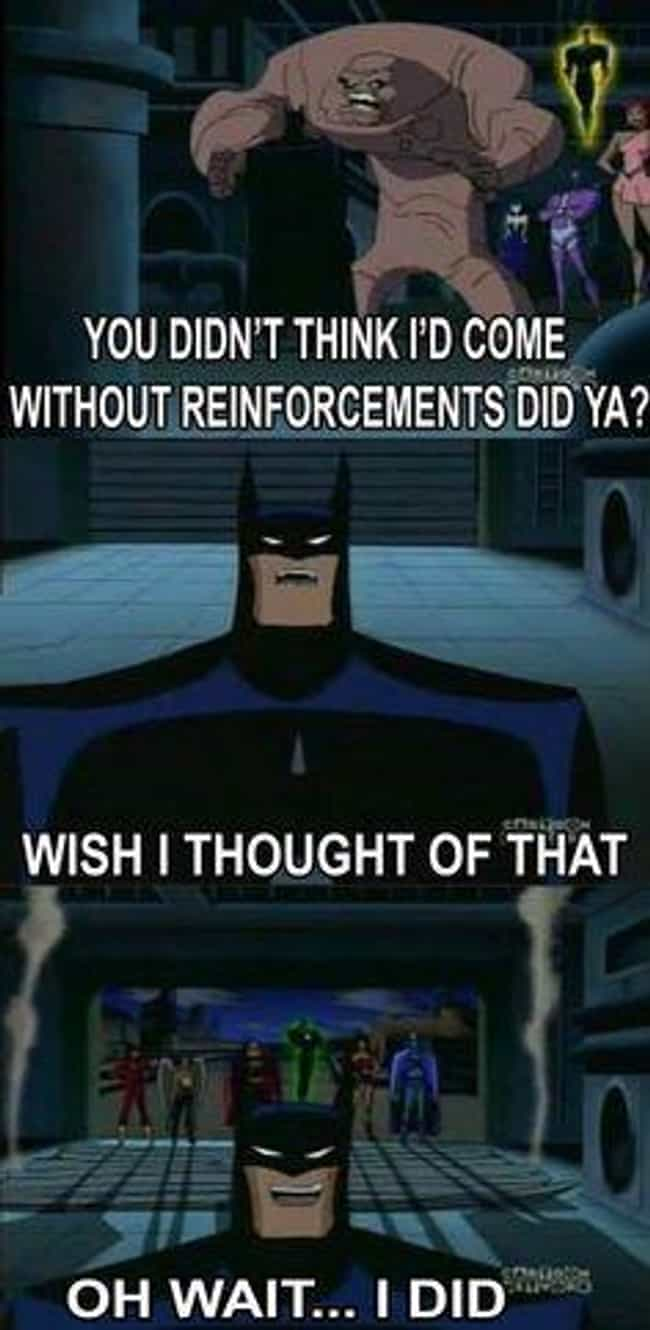 11 Memes Showing Why Batman Is Batman Animated Times