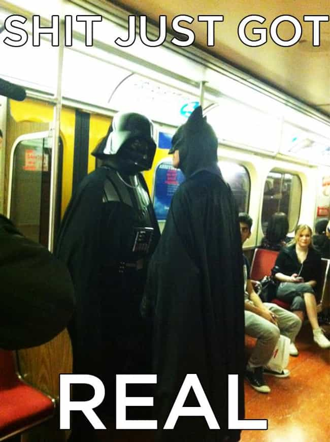 The Dark Side Rises is listed (or ranked) 4 on the list The Best Batman Memes On The Internet