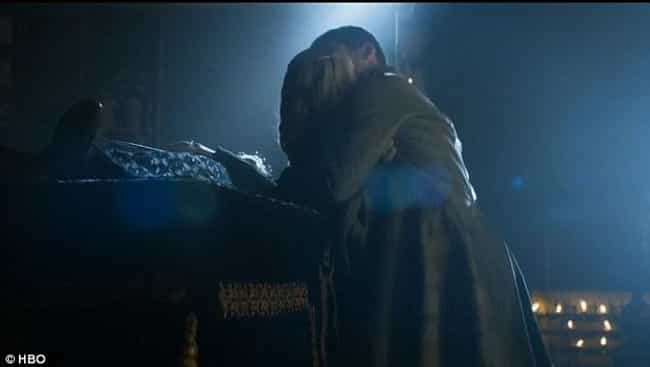 Game of Thrones - Cersei and J... is listed (or ranked) 1 on the list The Weirdest Sex Scenes in Widely Watched TV Shows