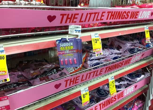 The Little Things Ladies Love.... is listed (or ranked) 4 on the list Valentine's Day FAILs That'll Make You Glad You're Single