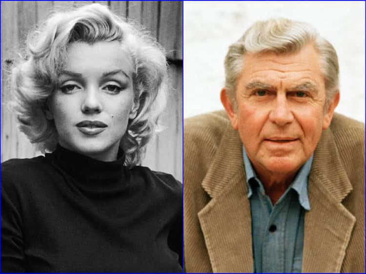 Marilyn Monroe & Andy Griffith - June 1, 1926