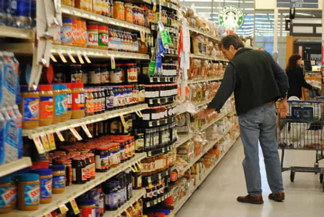 Look a Little Lower is listed (or ranked) 1 on the list 34 Genius Grocery Shopping Hacks