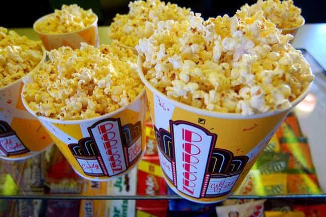 Popcorn Skyrocketed To Its Cur... is listed (or ranked) 4 on the list 14 Movie Theater Secrets You Probably Haven't Thought About