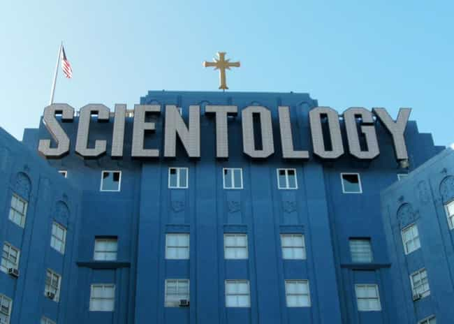 Scientology is listed (or ranked) 6 on the list 37 Weird Cults No One Talks About