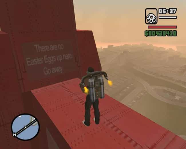 Image result for no easter egg up here san andreas