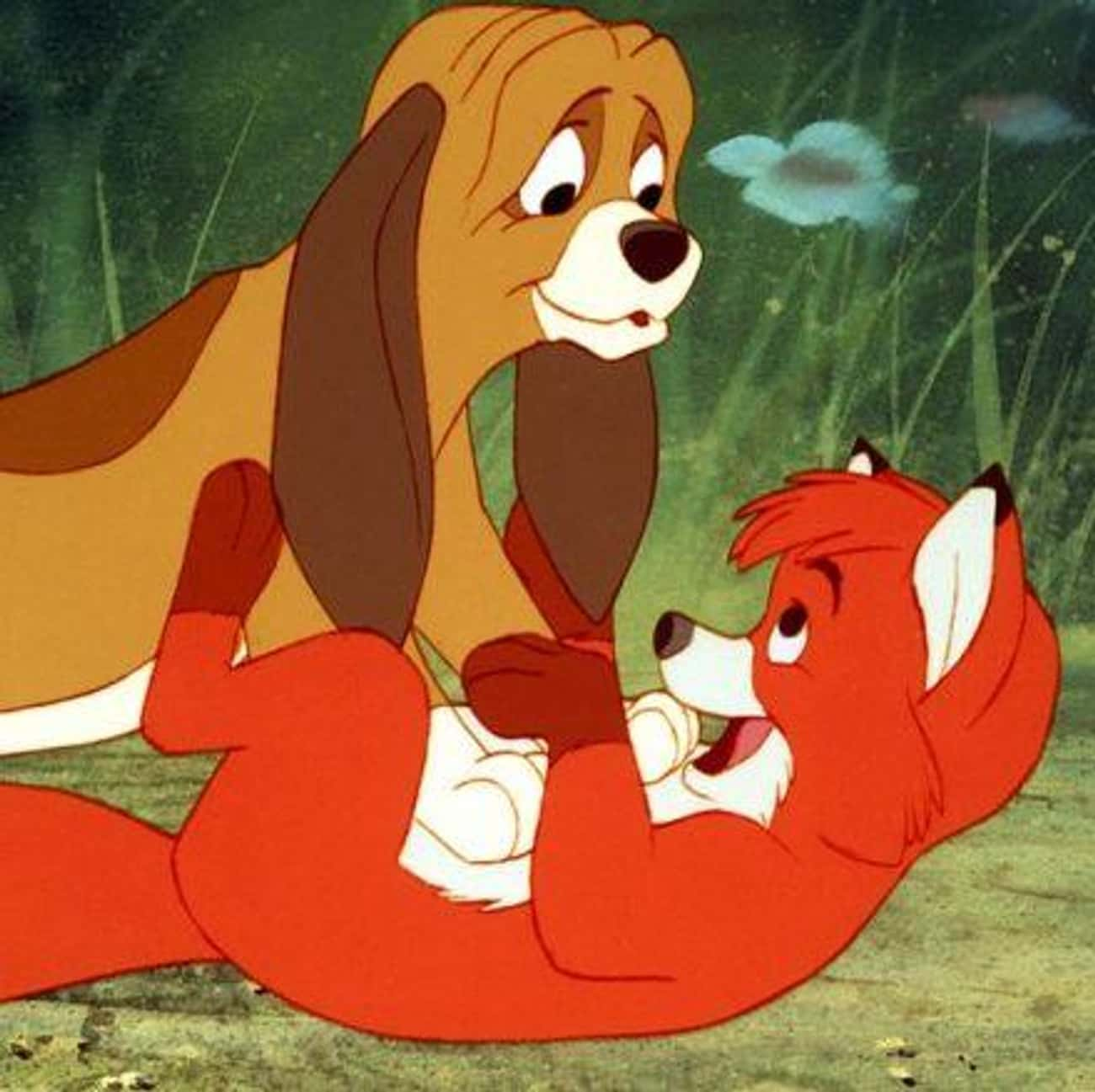 Friends Forever is listed (or ranked) 3 on the list The Best Quotes From The Fox and the Hound