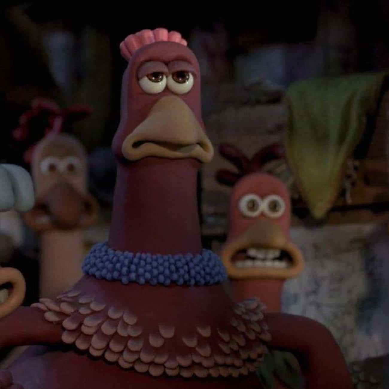 Load Of Tripe! is listed (or ranked) 3 on the list The Best 'Chicken Run' Quotes
