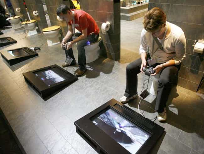 The Ultimate Gamers Thro... is listed (or ranked) 8 on the list 14 Bizarre Toilets From Around the World