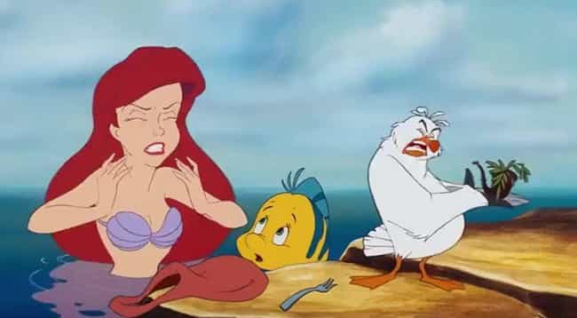 My Father's Gonna Kill M... is listed (or ranked) 1 on the list The Best 'The Little Mermaid' Quotes