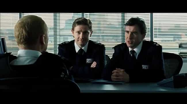 How's The Hand is listed (or ranked) 1 on the list The Best 'Hot Fuzz' Quotes