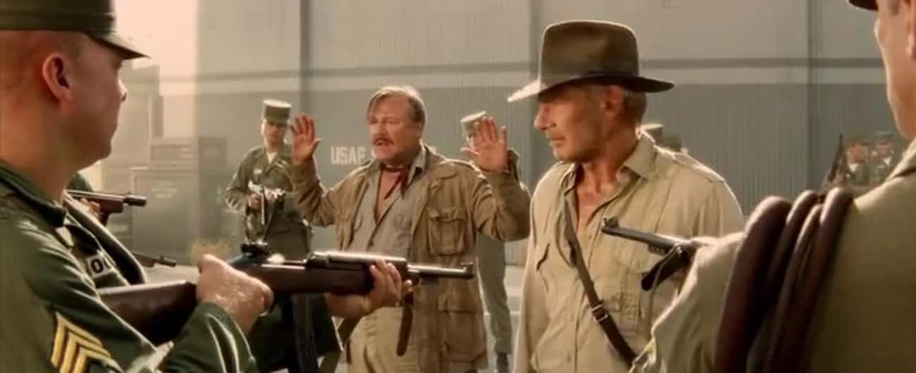 You're Embarrassing Us. is listed (or ranked) 1 on the list The Best Indiana Jones and the Kingdom of the Crystal Skull Quotes
