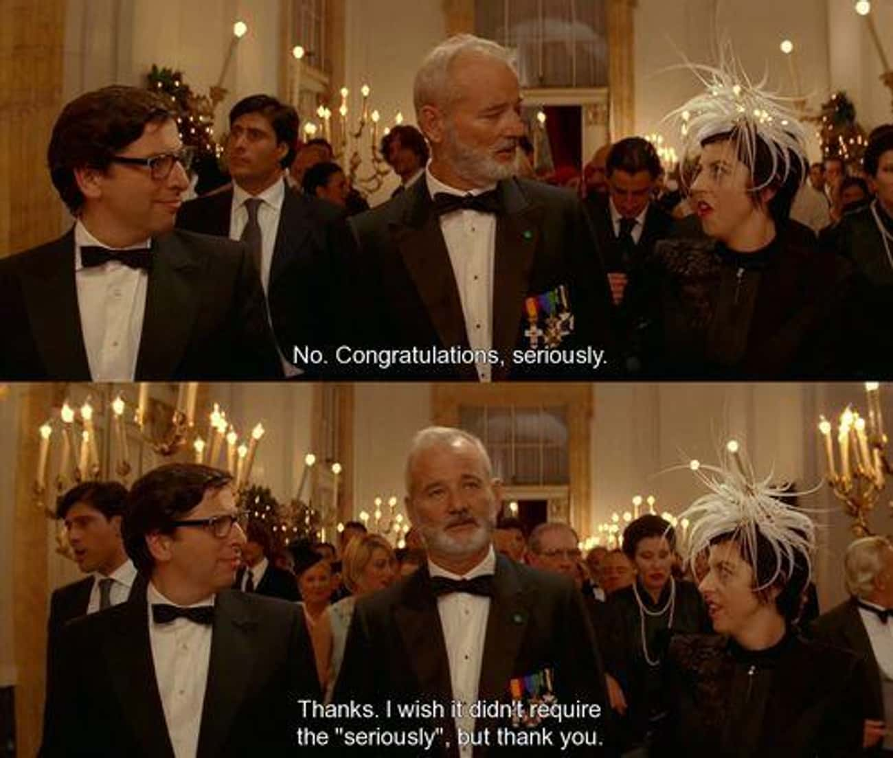 ...Seriously is listed (or ranked) 3 on the list The Best The Life Aquatic with Steve Zissou Quotes