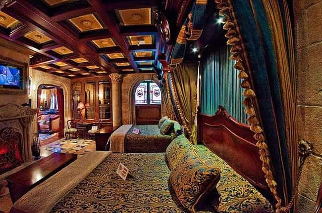 There's A Secret Suite In ... is listed (or ranked) 1 on the list The Coolest, Best Kept Secrets of the Disney Parks