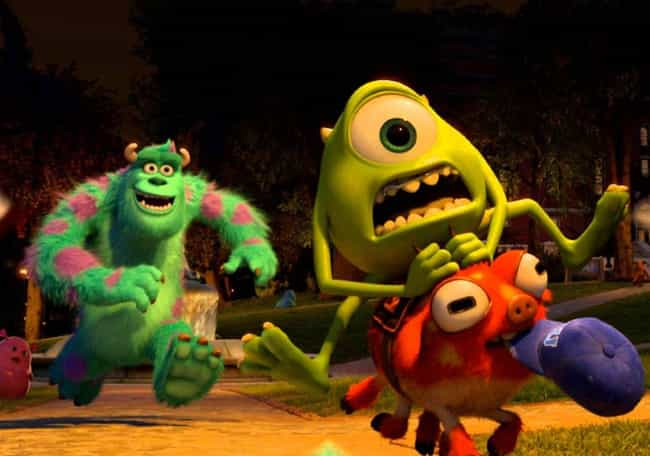 You Grab The Pig is listed (or ranked) 3 on the list The Best Monsters University Quotes