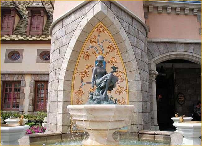 Cinderella Fountain Look... is listed (or ranked) 4 on the list The Coolest, Best Kept Secrets of the Disney Parks