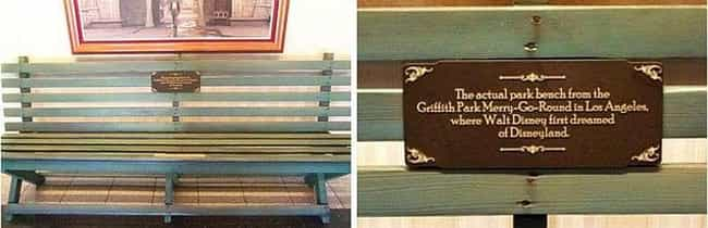 The Bench Where Walt Disney Fi... is listed (or ranked) 4 on the list The Coolest, Best Kept Secrets of the Disney Parks
