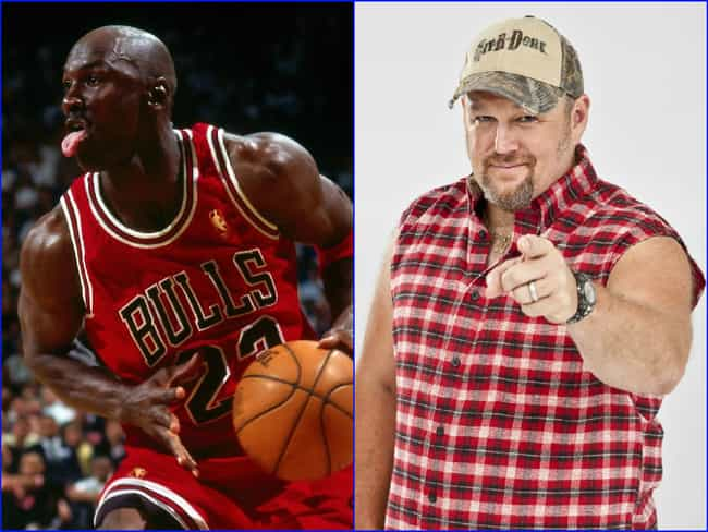 Michael Jordan & Larry the Cab... is listed (or ranked) 2 on the list Famous People Born the Exact Same Day