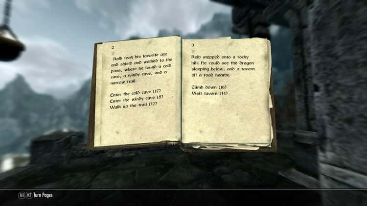 You Can Play as a Choose Your Own Adventure
