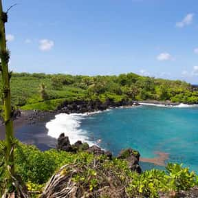 Waianapanapa Beach is listed (or ranked) 8 on the list The Best Beaches in Hawaii