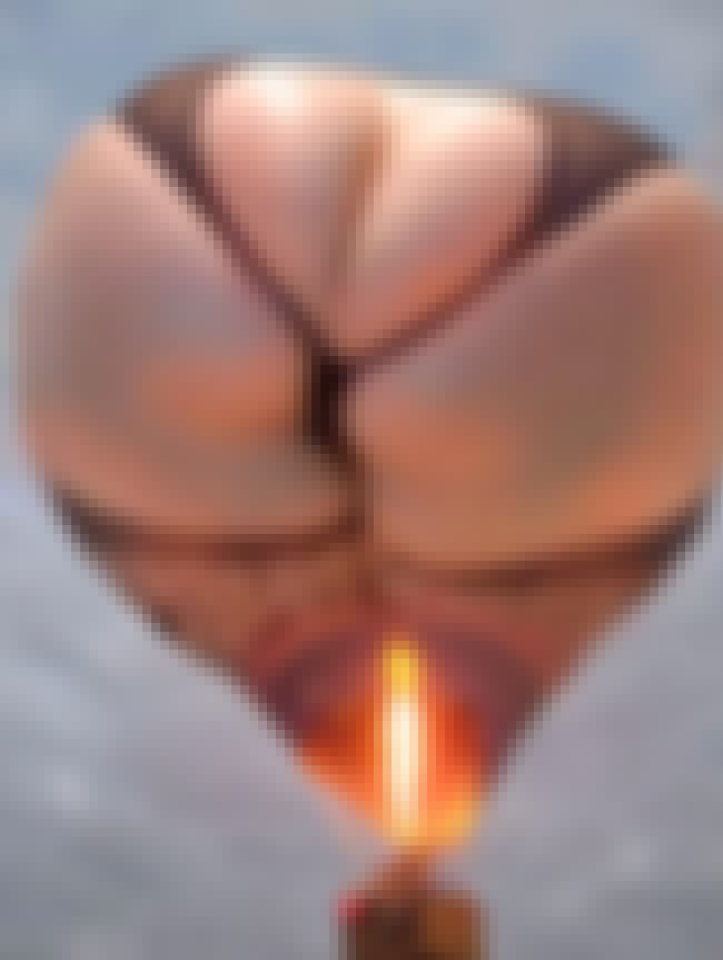 This Broad Beamed Balloon is listed (or ranked) 2 on the list 48 Everyday Things That Straight Up Look Like Butts