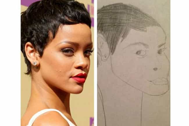 Rihanna Shines Bright Like Cub... is listed (or ranked) 1 on the list The Most Awful Pieces of Fan Art Ever Made
