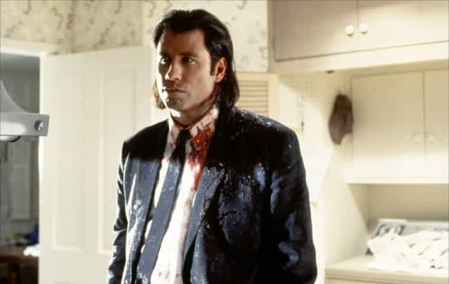 John Travolta in Pulp Fiction is listed (or ranked) 1 on the list The Best Independent Films Starring Huge Hollywood Actors