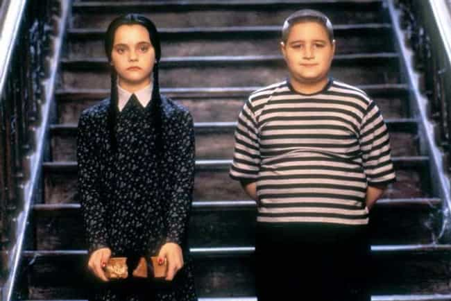 "Pugsley from ""The Addams F... is listed (or ranked) 4 on the list Kid Heroes of '90s Movies That You Totally Forgot About"